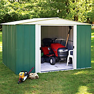 10x8 Greenvale Apex roof Metal Shed