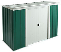 6x4 Greenvale Pent Metal Shed With assembly service