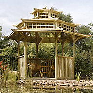 Rowlinson Oriental Natural Pagoda with Assembly Service