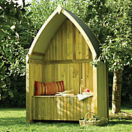 Rowlinson Softwood Boat Shape Arbour