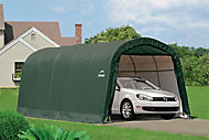 20x10 Shelterlogic Round top Tubular steel frame Auto Shelter