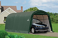 20x12 Shelterlogic Round top Tubular steel frame Auto Shelter