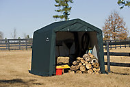 10x10 Shelterlogic Apex roof Shed In A Box