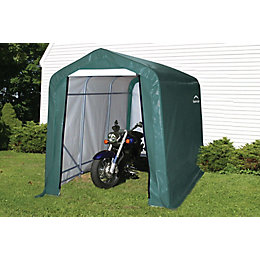 10X6 Shelterlogic Apex Polyethylene Shed In A Box