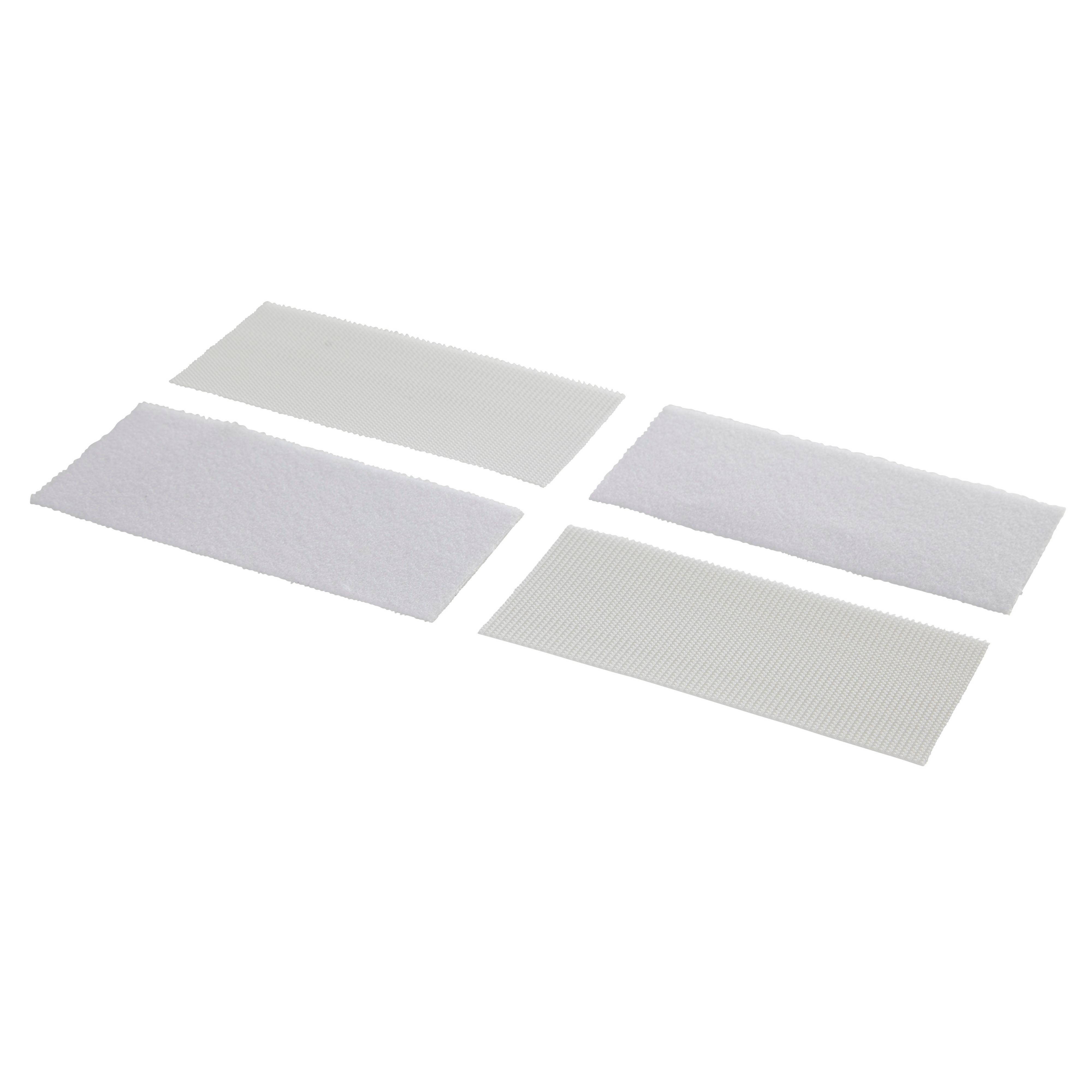 Griptite White Stick On Strip L 100mm Pack Of 2