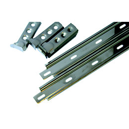 Expamet Galvanised Steel Wall Starter (L)1.165m, Pack of