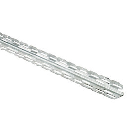Galvanised steel Angle bead (L)3m, Pack of 10