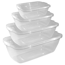 Thumbs Up Clip seal Food container, Set of