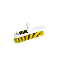 Bentley Yellow Stiff Broom Head (W)300mm
