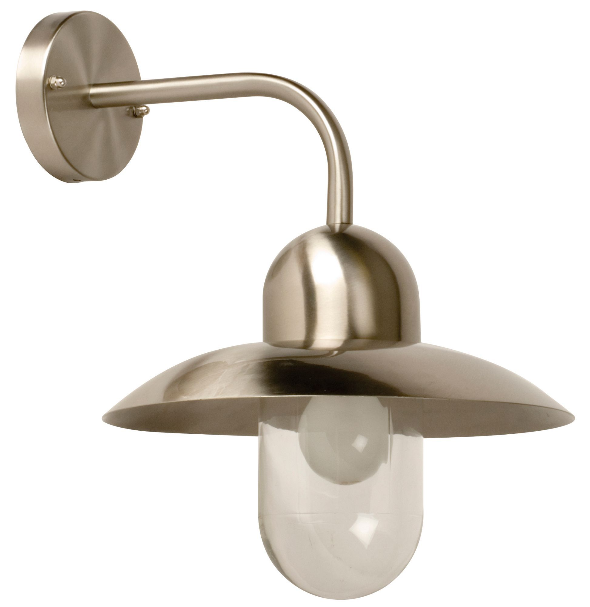 Station stainless steel mains powered external hanging wall light station stainless steel mains powered external hanging wall light departments diy at bq workwithnaturefo