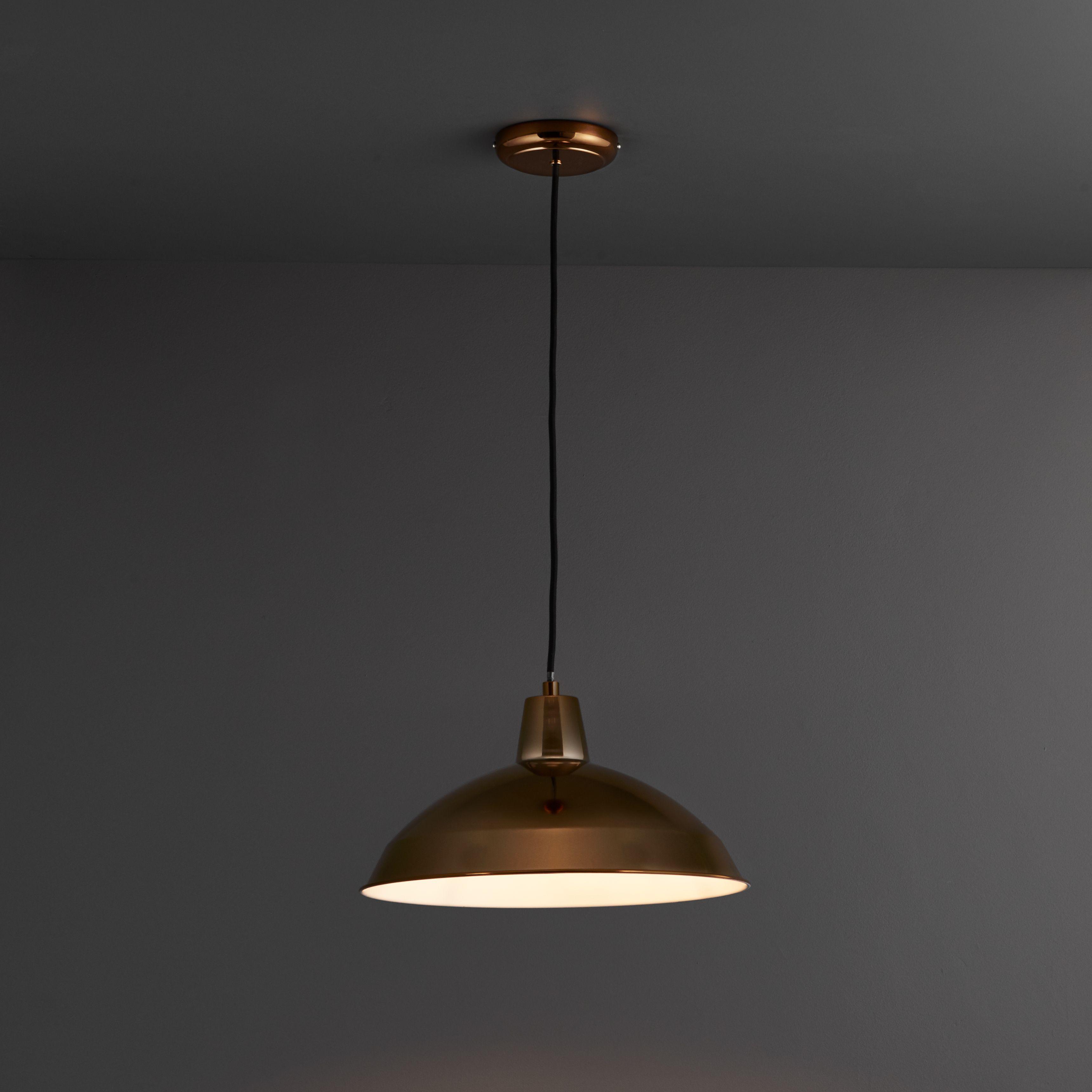 Manison Dome Copper Pendant Ceiling Light