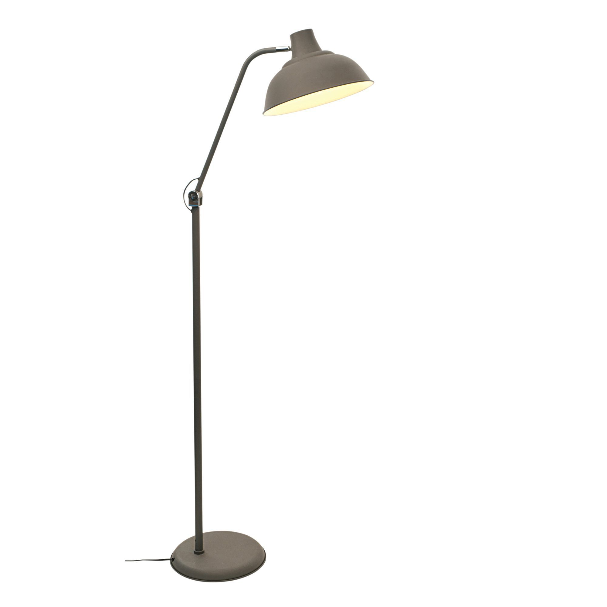 How To Trade >> Industry Charcoal Floor Lamp | Departments | TradePoint