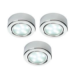 Masterlite Mains Powered LED Cabinet Light, Pack of