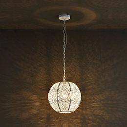 Alira Modern White Matt Ceiling Light
