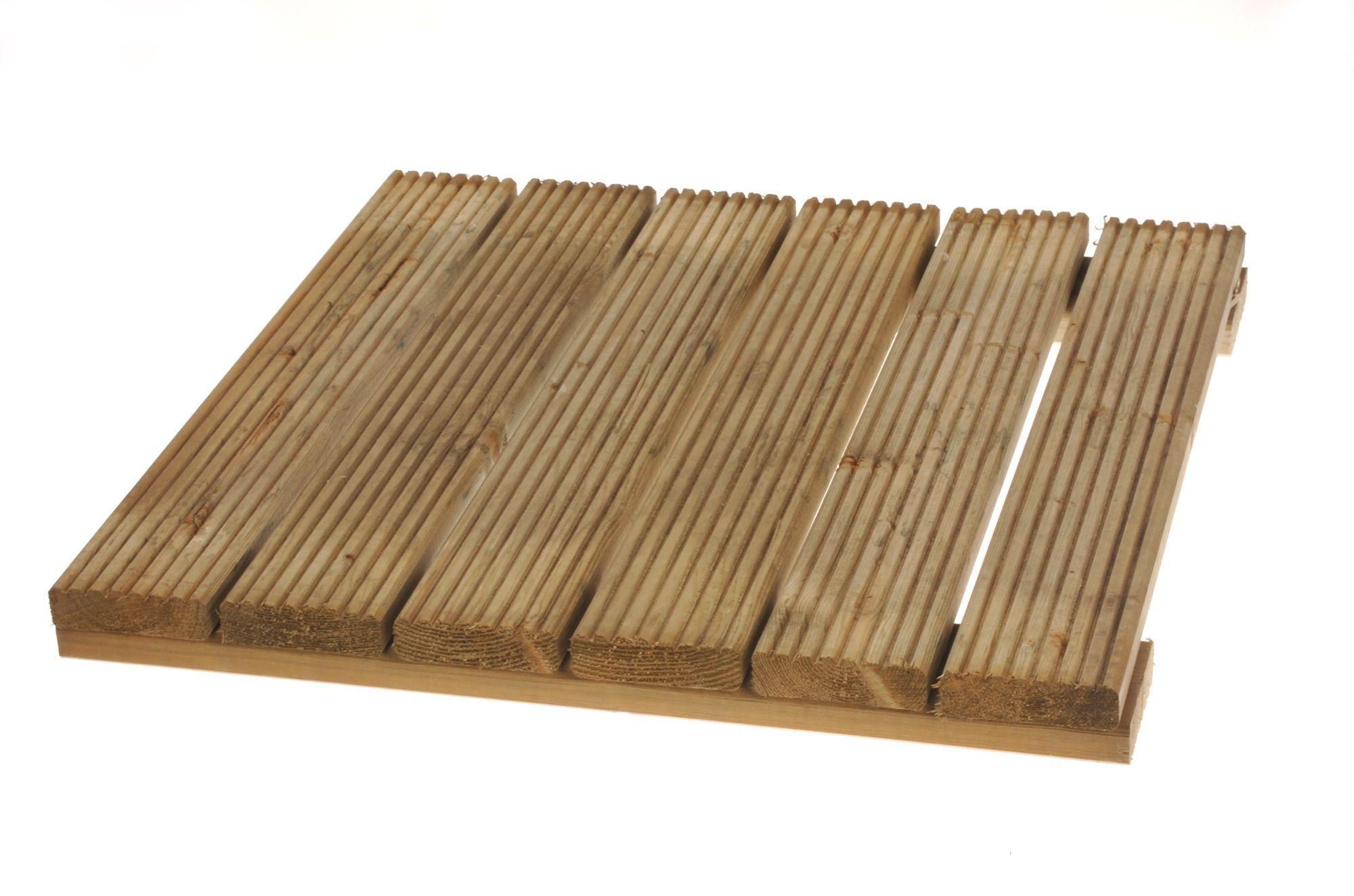 softwood deck square t 50mm w 600mm l 600mm. Black Bedroom Furniture Sets. Home Design Ideas