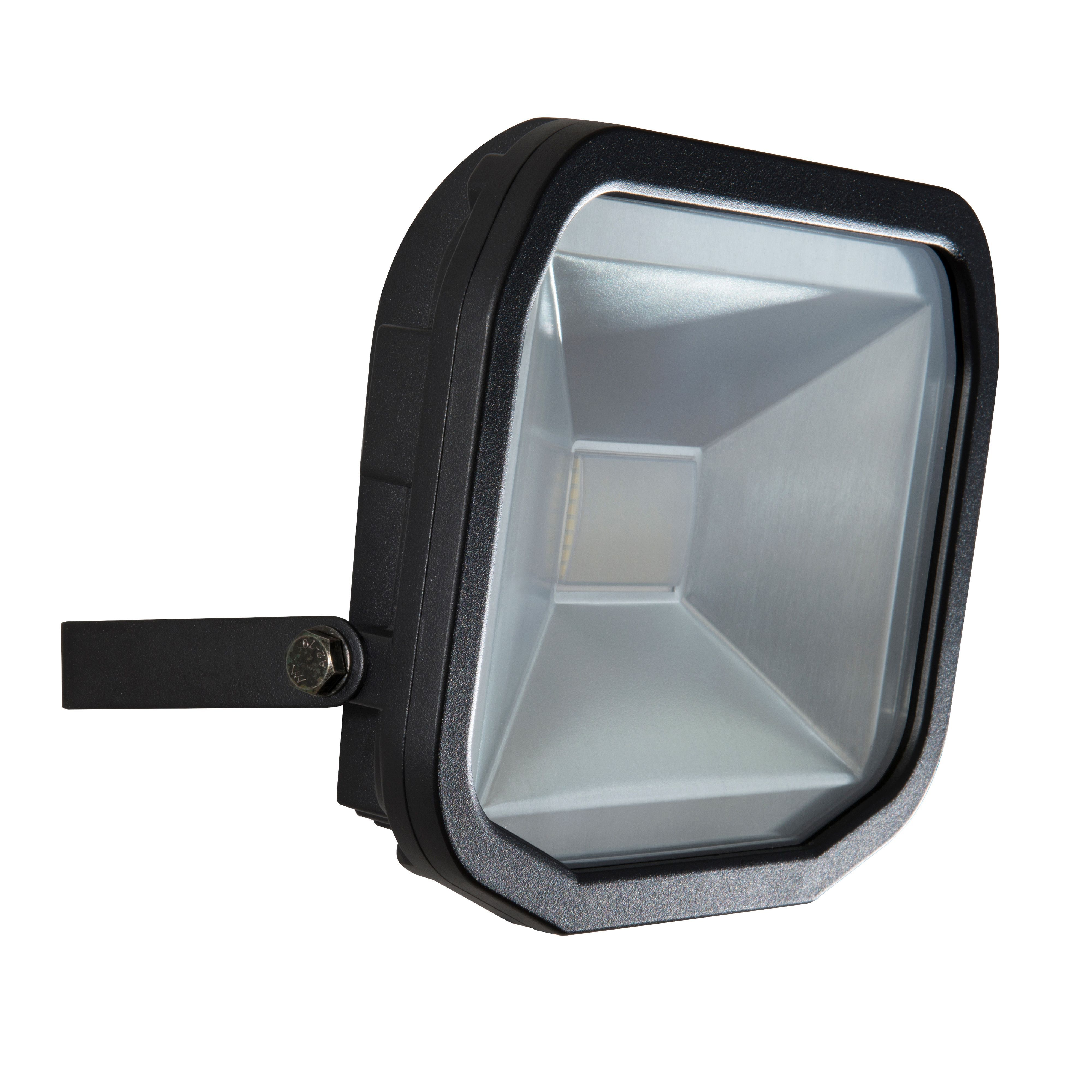Luceco black 38w mains powered external security flood light luceco black 38w mains powered external security flood light departments diy at bq aloadofball Choice Image