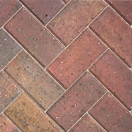 Autumn Driveway Block Paving (L)200mm (W)100mm, Pack of