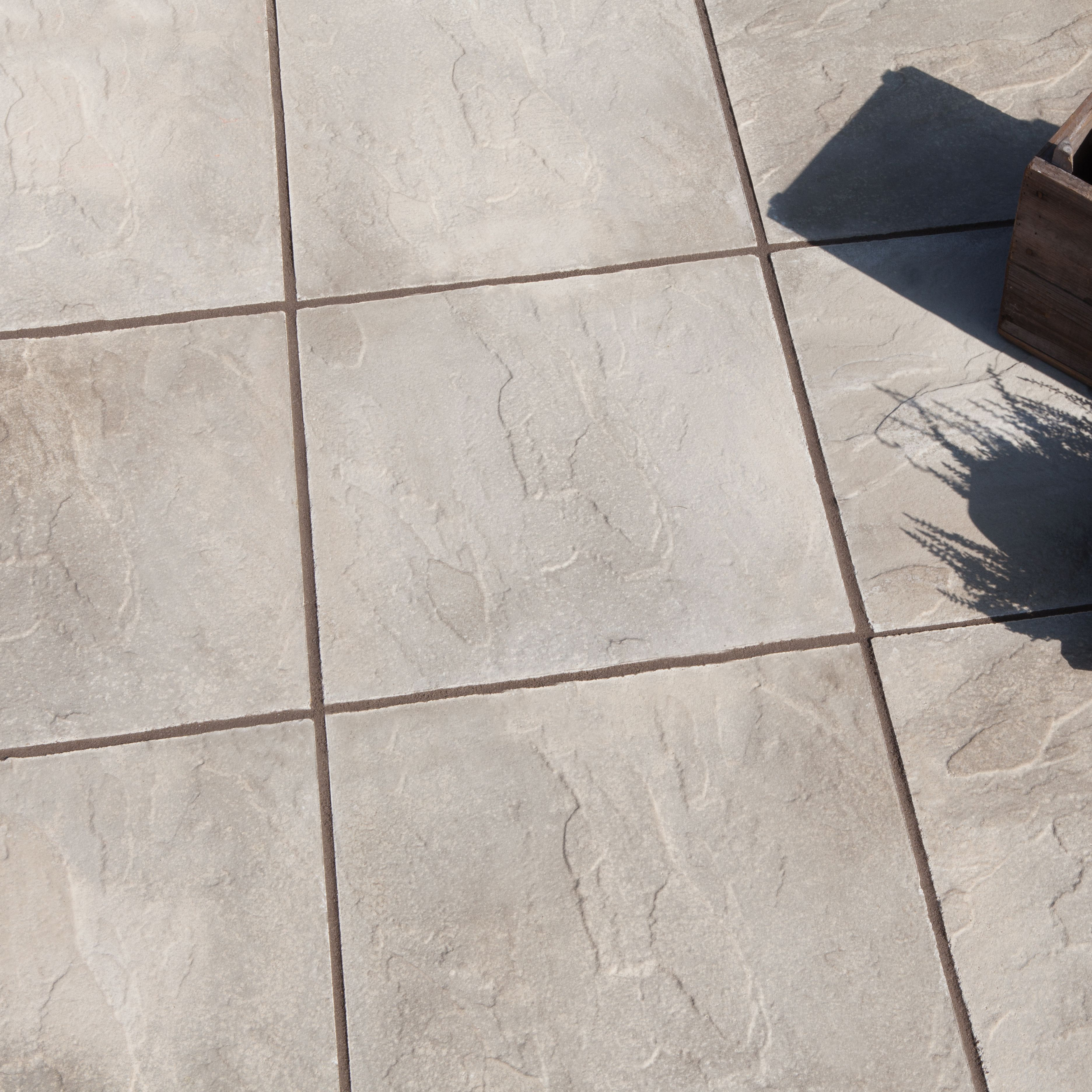 Good Grey Peak Riven Paving Slab (L)450 (W)450mm Pack Of 40 | Departments | DIY  At Bu0026Q