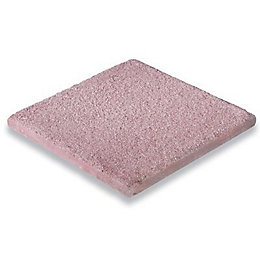 Red Textured Paving slab (L)450 (W)450mm Pack of