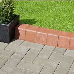 Woburn Rumbled Block Kerb Rustic, (L)200mm (H)100mm (T)100mm