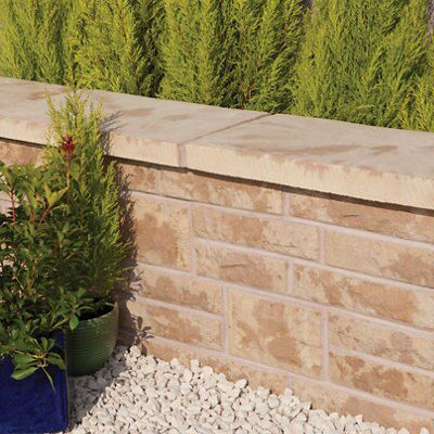 Ancestry Abbey Original Walling Stone, (L)225mm (W)65mm (T)100mm