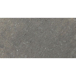 Blue black Natural Limestone Paving slab (L)400 (W)400mm
