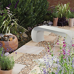 Curvo Natural Sandstone Bench Of 1