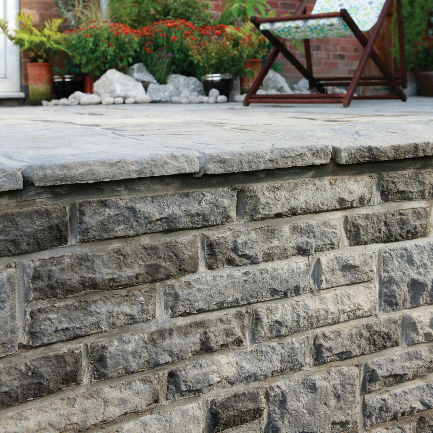 Ancestry Abbey Storm Mixed Size Walling Pack (T)100mm