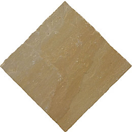 Autumn green Natural Sandstone Mixed size paving pack