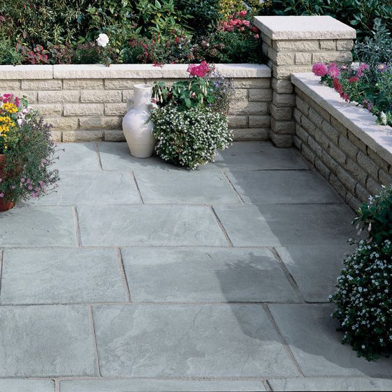 Autumn silver Old Riven Mixed size paving pack