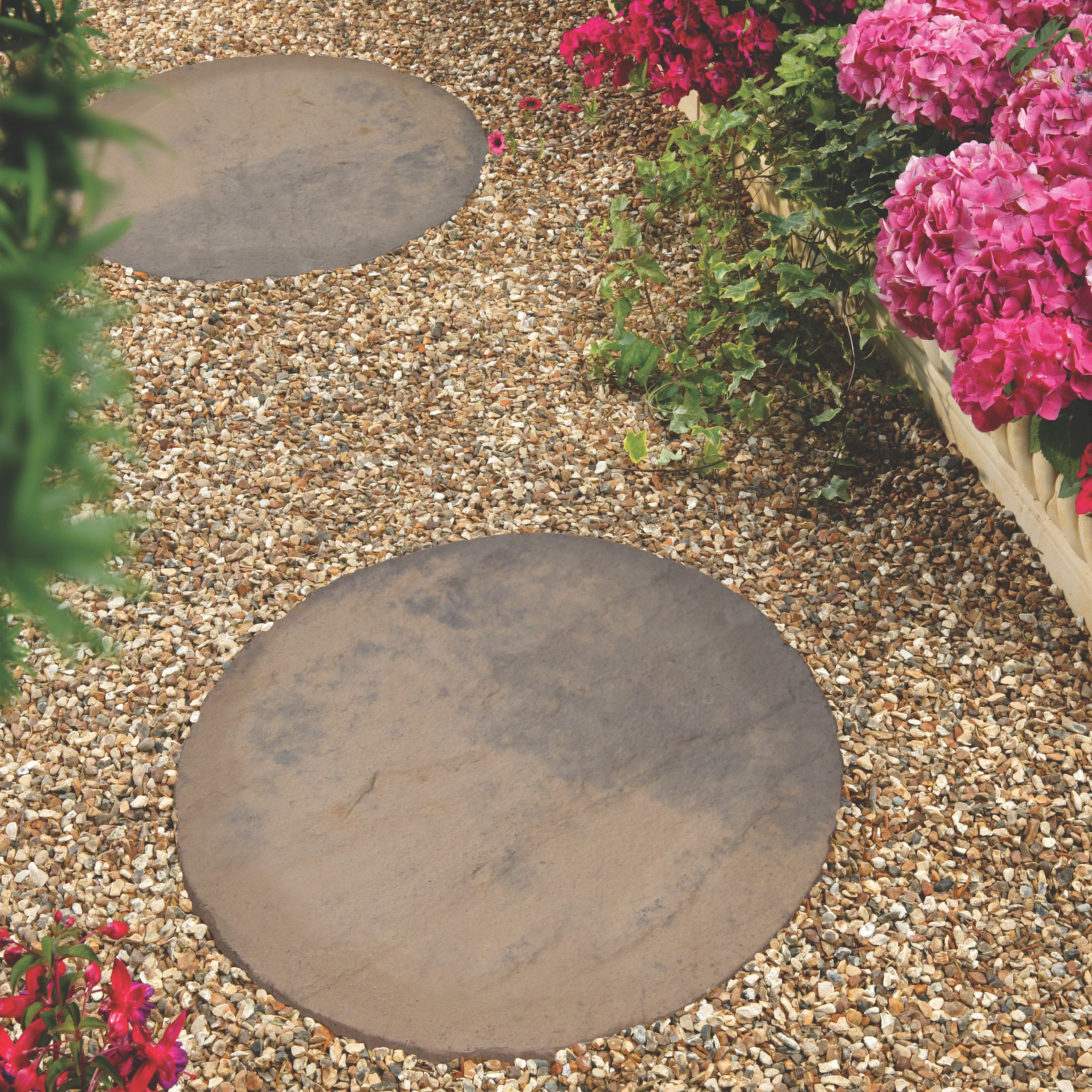 Diy At B Q: York Brown Stepping Stone