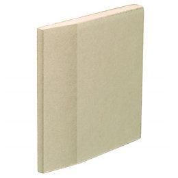 Gyproc Standard Tapered edge Plasterboard (L)2400mm (W)1200mm