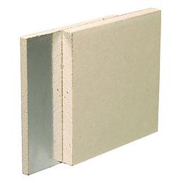 Gyproc Duplex Square edge Plasterboard (L)2400mm (W)1200mm