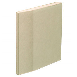Gyproc Standard Tapered edge Plasterboard (L)1800mm (W)900mm