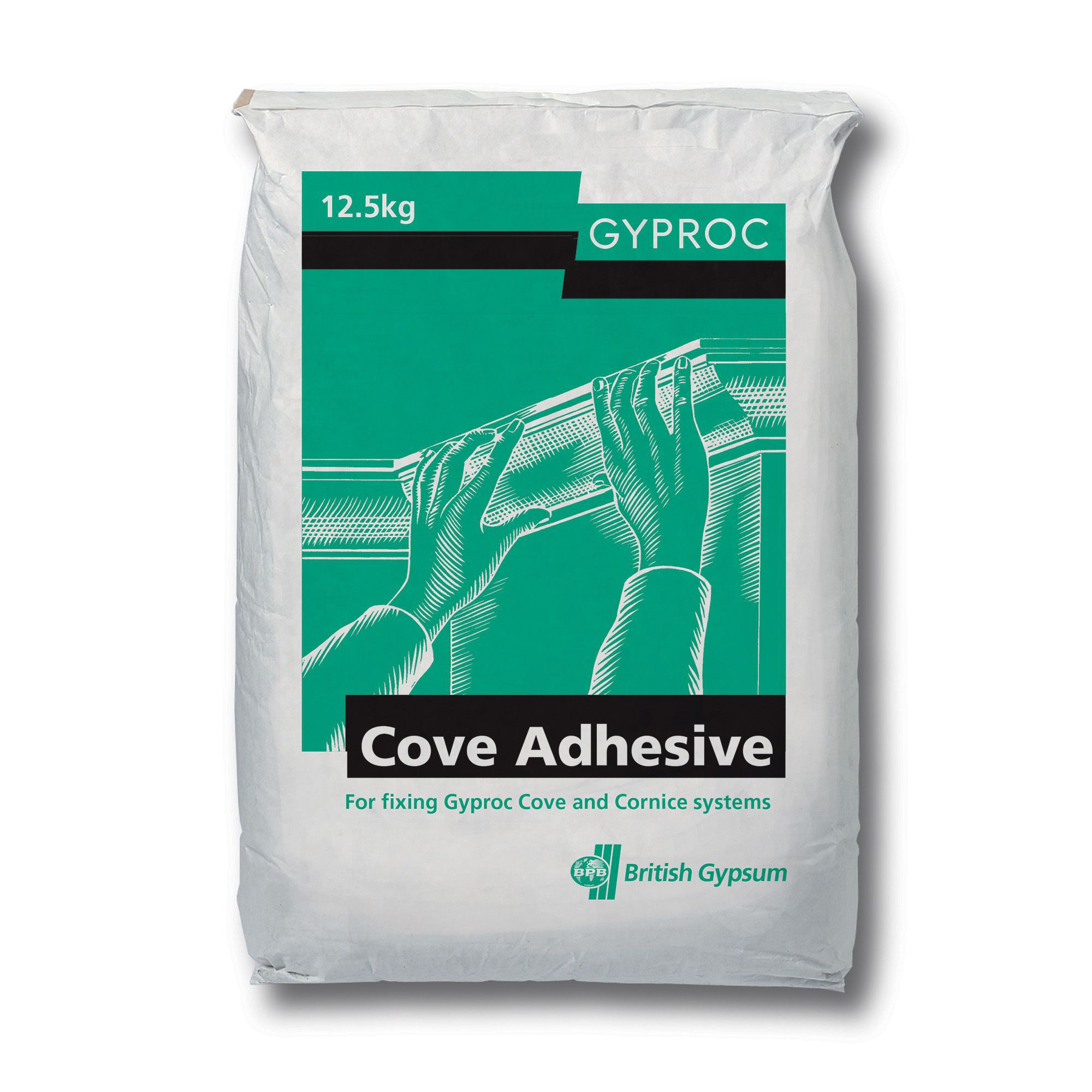 Gyproc White Coving Adhesive Departments Diy At B Amp Q