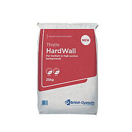 Thistle Hard wall Undercoat plaster 25kg