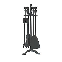 5 Piece Slemcka Traditional Metal Companion Set