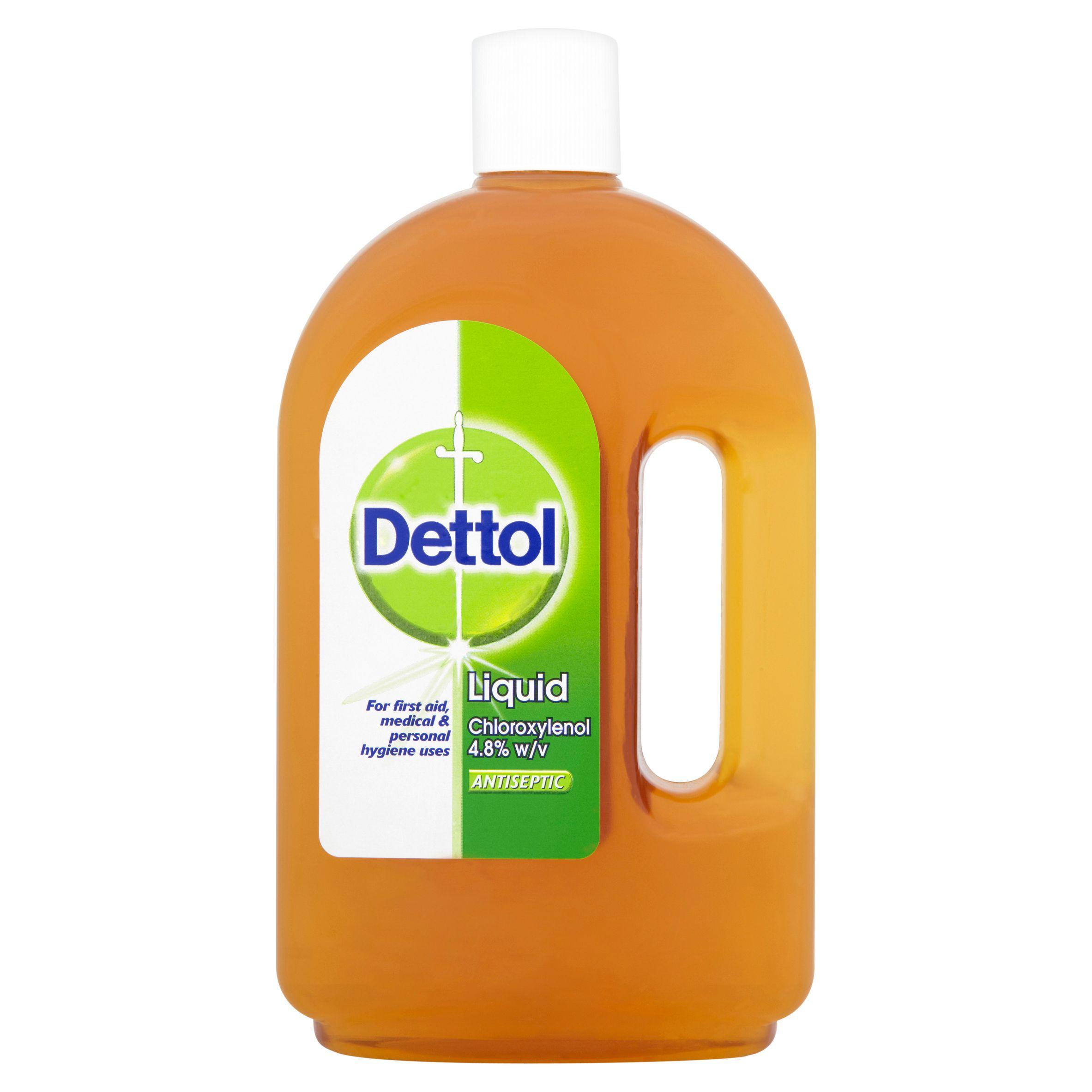 Dettol Liquid Antiseptic 750 Ml Departments Diy At B Amp Q