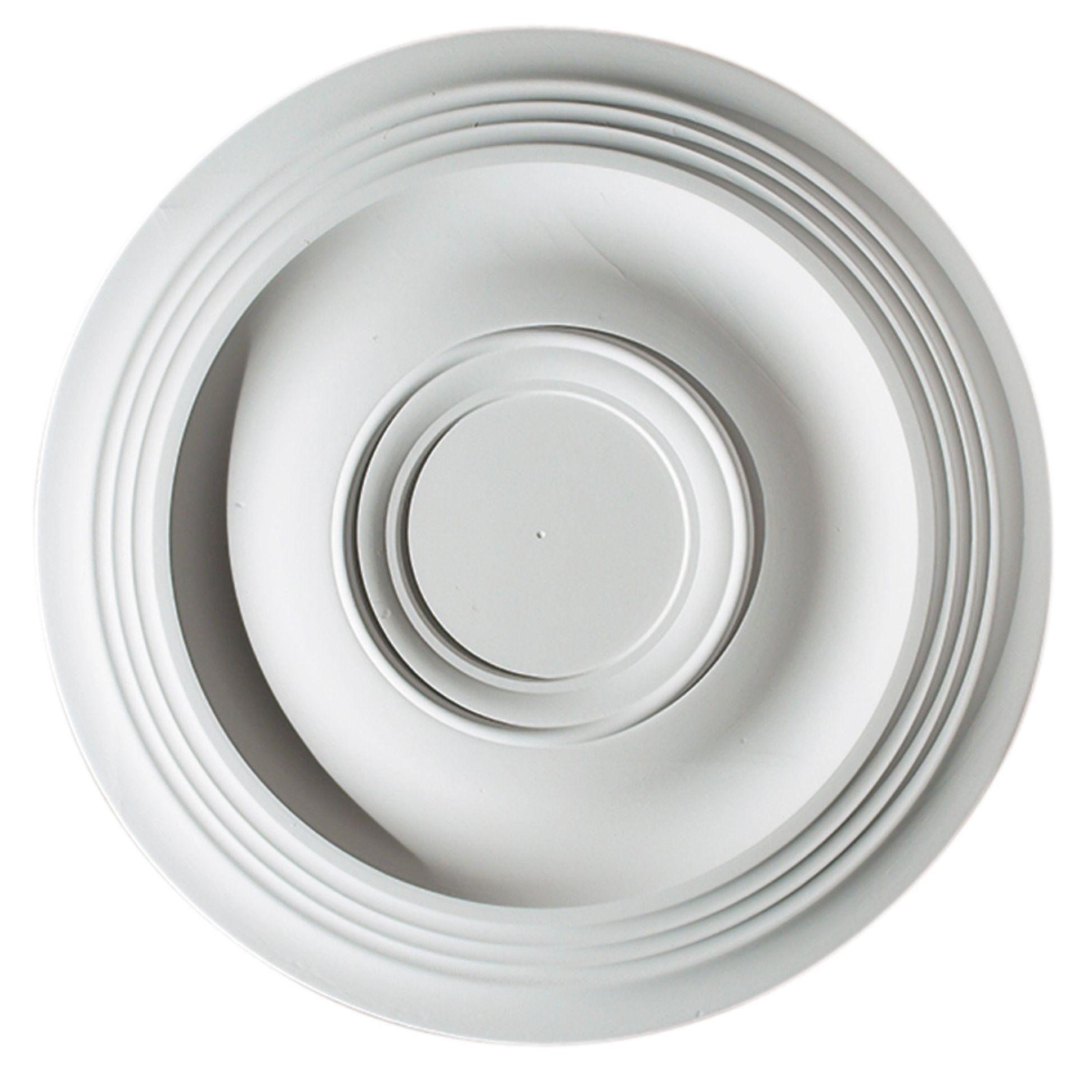 Artex Expression White Ceiling Rose (Dia)360mm | Departments | DIY At Bu0026Q
