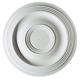 Artex Expression White Ceiling Rose (Dia)360mm
