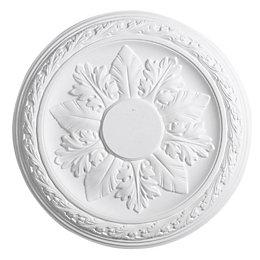 Artex Cavendish White Ceiling Rose (Dia)360mm