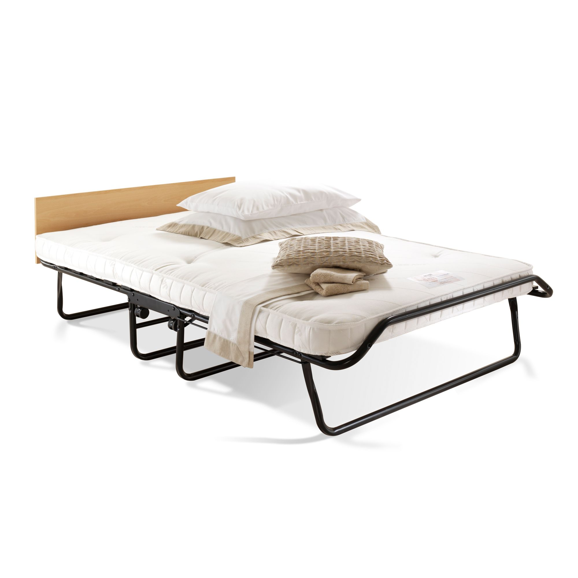 - Jay-Be Royal Double Foldable Guest Bed With Pocket Sprung Mattress  Departments DIY At B&Q