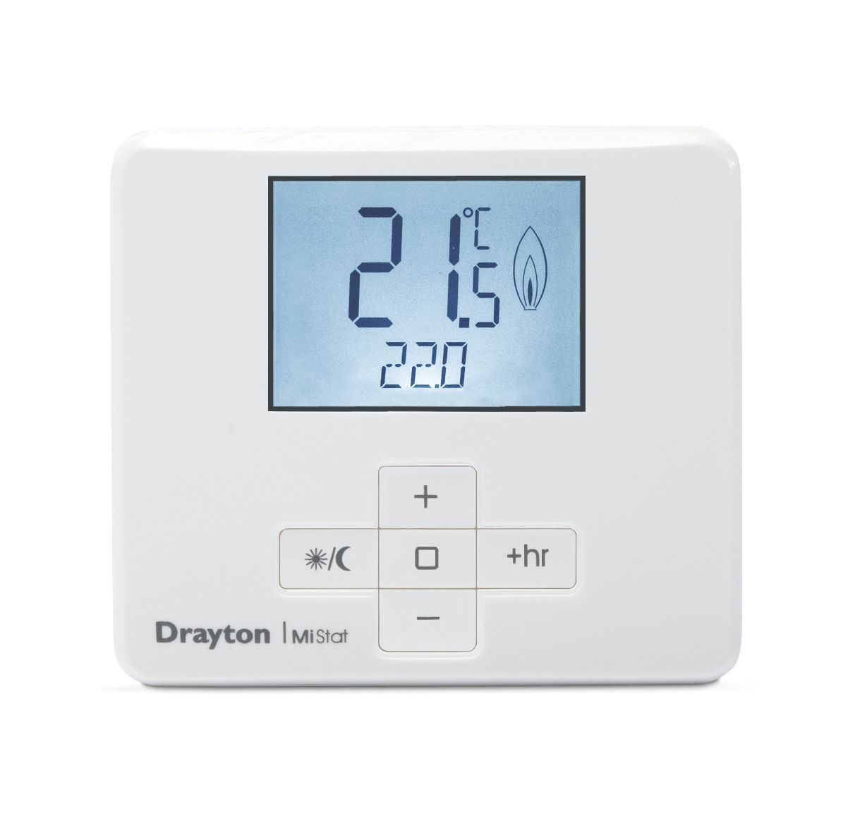 drayton thermostat departments diy at b q. Black Bedroom Furniture Sets. Home Design Ideas