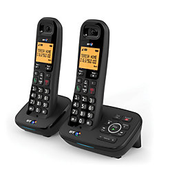 BT Dect Black Telephone with Nuisance Call Blocker