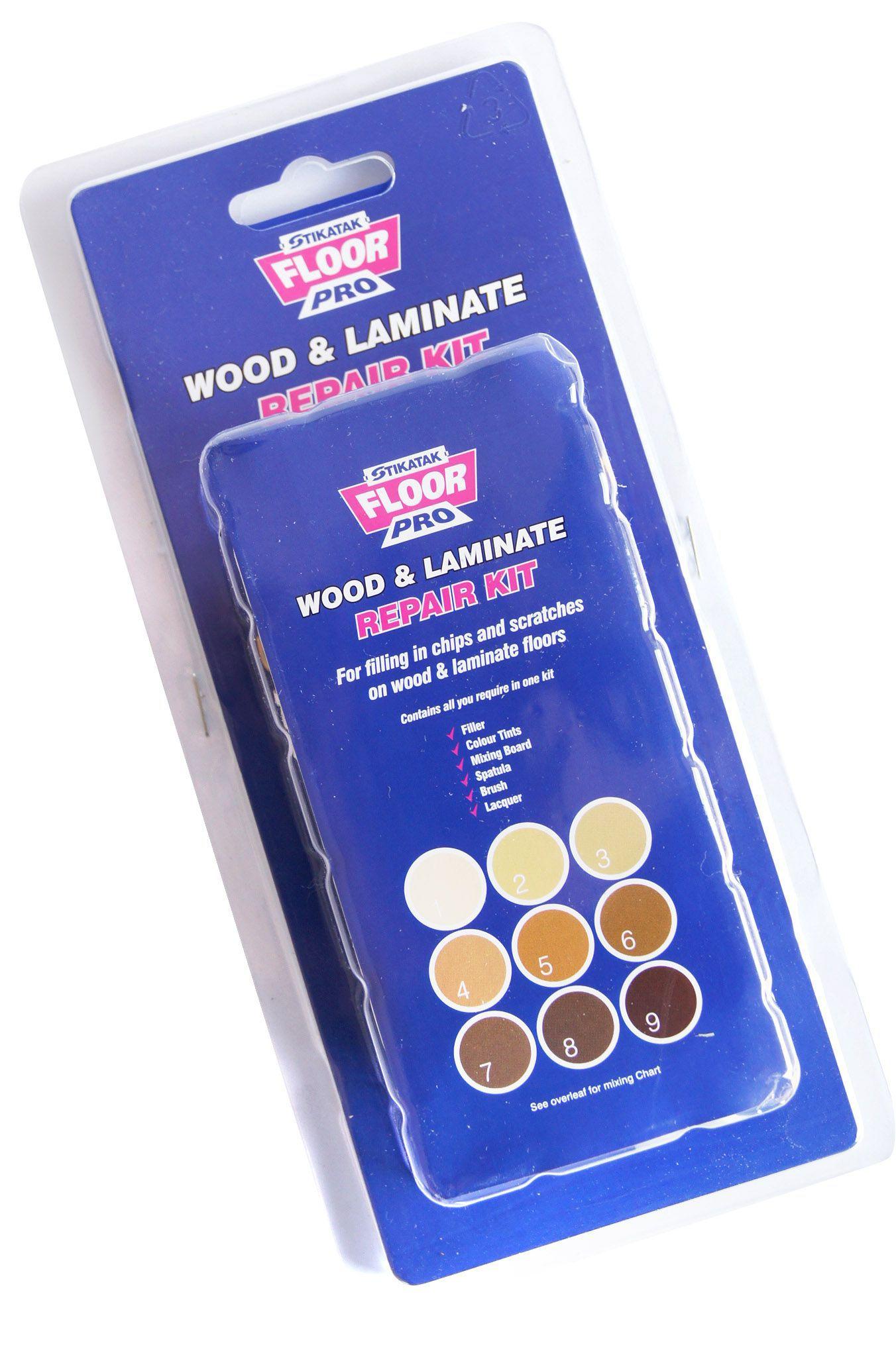 Stikatak Blue Wood Amp Laminate Floor Repair Kit