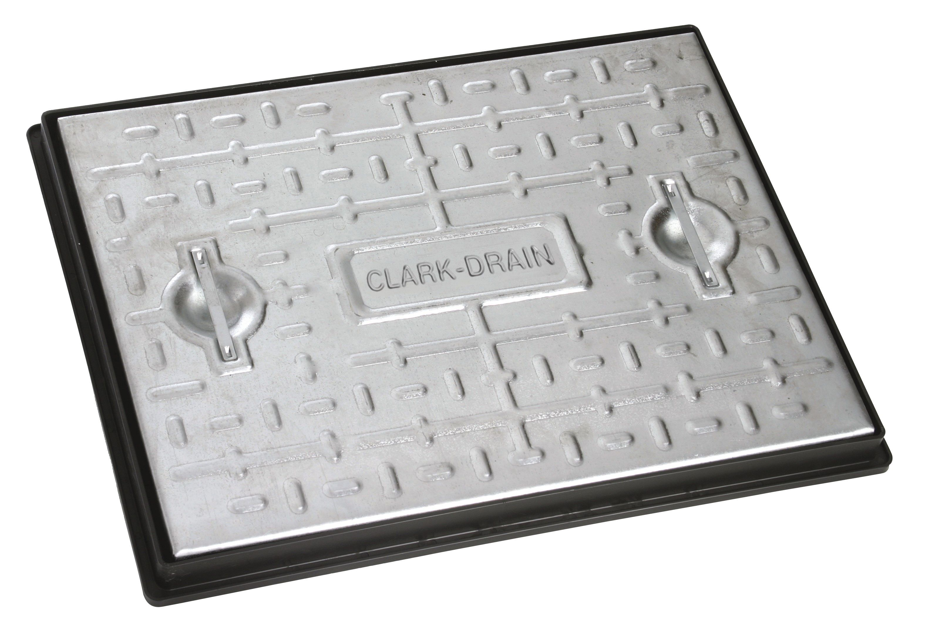 Clark 25t Manhole Cover With Frame Departments Diy At B Amp Q