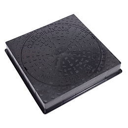 Clark 3.5 Tonne (GPW) Manhole Cover with Frame