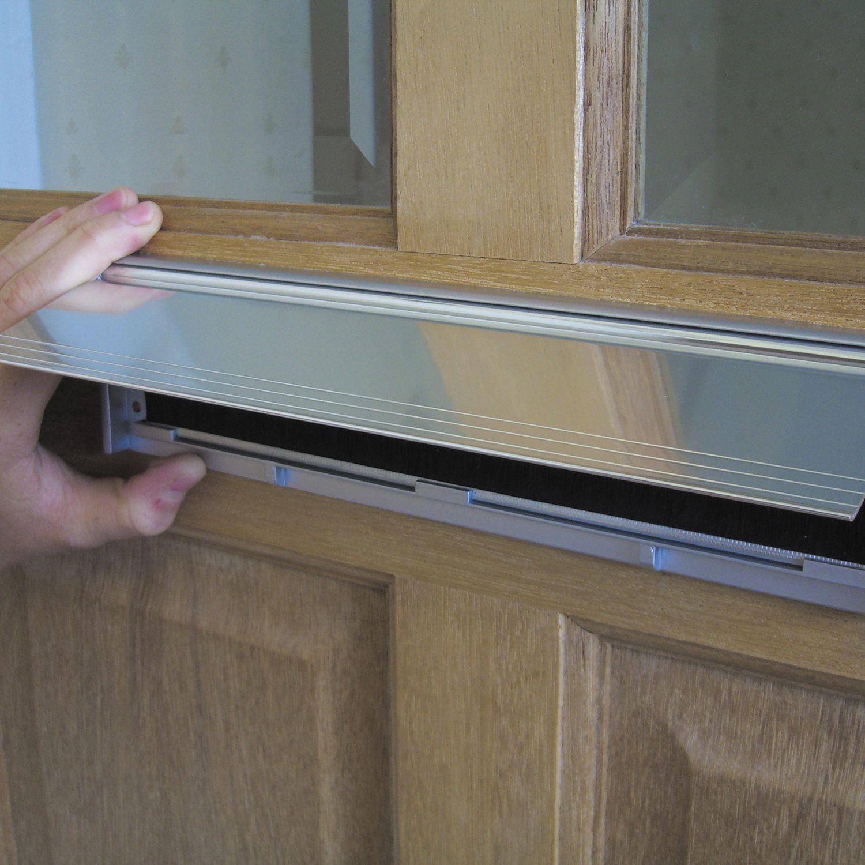 stormguard aluminium brush letterbox draught excluder. Black Bedroom Furniture Sets. Home Design Ideas