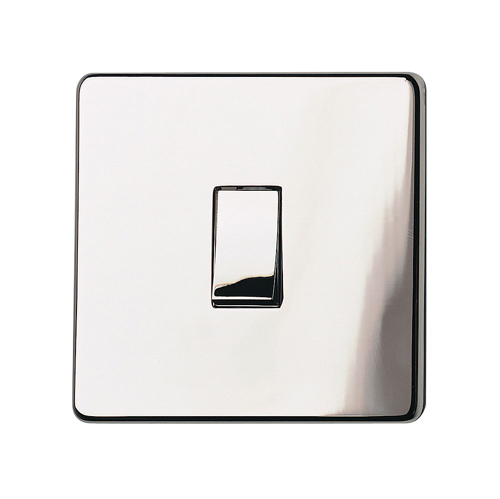Crabtree 10a 2 Way Chrome Effect Light Switch Departments Diy At B Q