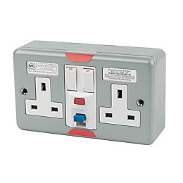 MK 13A Switched Socket with Active RCD